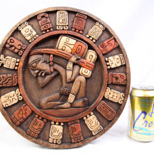 Mayan Calendar Wood Carving